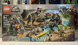 LEGO 75938 Jurassic World T-Rex Vs. Dino Mech Battle, Brand New & Sealed