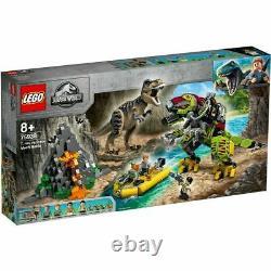 LEGO 75938 Jurassic World T. Rex vs Dino-Mech Battle