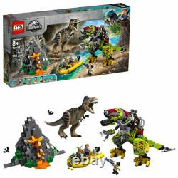 LEGO 75938 Jurassic World T. Rex vs. Dino Mech Battle New in Sealed Box