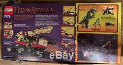 LEGO Dino Attack 7476 Iron Predator vs. T-Rex NIB