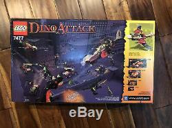 LEGO Dino Attack #7477 T-1 Typhoon vs. T-Rex New In Box Set Sealed Dinosaur