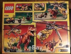 LEGO Dino T-Rex Hunter (5886) New in factory sealed box. Retired Dinosaur Set