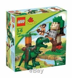 LEGO Duplo Dino Trap 5597 T-Rex Dinosaur Jungle Creativity Kid Building Toy NEW