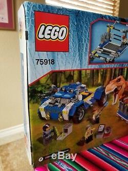 LEGO JURASSIC PARK 75918 T. Rex TRACKER Retired New Sealed box