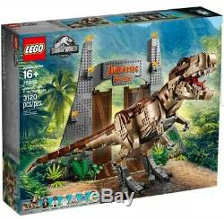 LEGO JURASSIC PARK 75936 T Rex Rampage BNIB New & Sealed