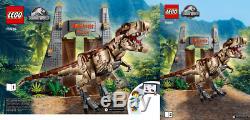 LEGO JURASSIC PARK 75936 T Rex Rampage BNIB New & Sealed v2