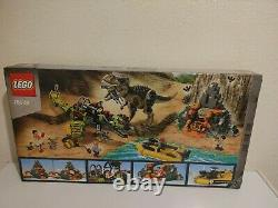 LEGO JURASSIC WORLD DINOSAUR 75938 T. Rex vs Dino-Mech Battle NISB NEW & SEALED