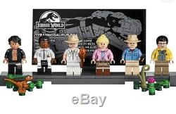 LEGO Jurassic Park Rampage GATE + Minifigures (NO T-Rex Included) from 75936