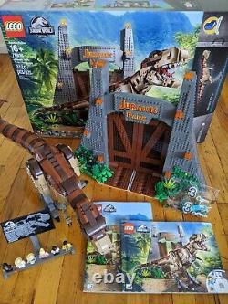 LEGO Jurassic Park T. Rex Rampage (75936)