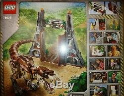 LEGO Jurassic Park T. Rex Rampage #75936 BRAND NEW FACTORY SEALED