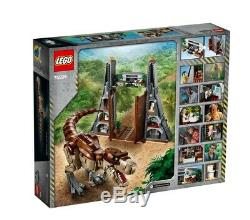 LEGO Jurassic Park T-Rex Rampage 75936 / NEW AND SEALED! / FAST FREE SHIPPING