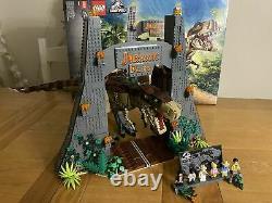 LEGO Jurassic Park T. Rex Rampage 75936 NO INSTRUCTIONS Bricks 100% Complete