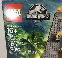 LEGO Jurassic Park T-Rex Rampage Building Kit 75936