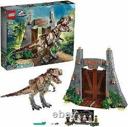 LEGO Jurassic Park T. Rex Rampage Set NO MINIFIGURES BRAND NEW WITH BOX