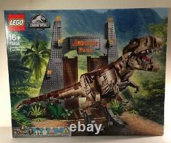 LEGO Jurassic Park T. Rex Rampage Set with 6 Minifigures 75936! New! Free Post