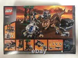 LEGO Jurassic Park World Carnotaurus Gyrosphere Escape 75929 Trex New Sealed