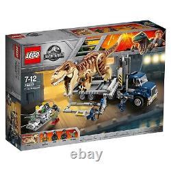 LEGO Jurassic World (75933) T. Rex Transport (Brand New & Factory Sealed)