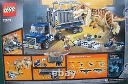 LEGO Jurassic World 75933 T Rex Transport Set, Mint Condition, Retired Set