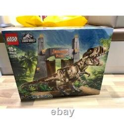 LEGO Jurassic World Jurassic Park T. Rex Rampage 75936