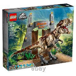 LEGO Jurassic World Jurassic Park T. Rex Rampage 75936, Brand New