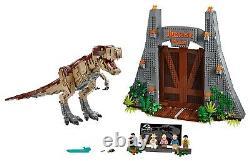 LEGO Jurassic World Jurassic Park T. Rex Rampage 75936 Brand New Sealed