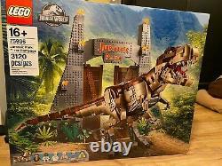 LEGO Jurassic World Jurassic Park T. Rex Rampage 75936 Sealed