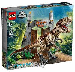 LEGO Jurassic World Jurassic Park T. Rex Rampage Set (75936)