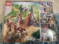LEGO Jurassic World Jurassic Park T. Rex Rampage Set 75936 New In Hand