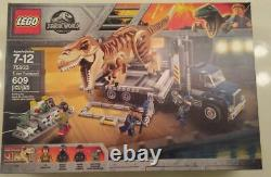 LEGO Jurassic World Set 75933 T. Rex Transport New