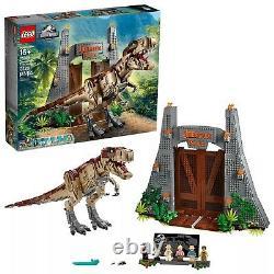 LEGO Jurassic World T. Rex Rampage 75936