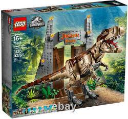 LEGO Jurassic World T. Rex Rampage 75936 New Toy Brick