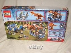 LEGO Jurassic World T. Rex Tracker (75918) BRAND NEW & SEALED