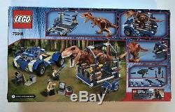 LEGO Jurassic World T. Rex Tracker 75918 Brand New Factory Sealed Fast Shipping