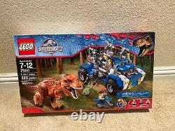 LEGO Jurassic World T. Rex Tracker 75918 Brand New Sealed In Box