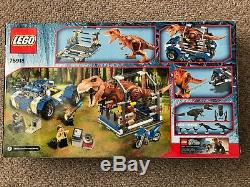 LEGO Jurassic World T-Rex Tracker 75918 RETIRED SET NEW SEALED IN BOX
