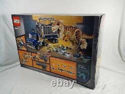 LEGO Jurassic World T. Rex Transport 75933 BRAND NEW Jurassic Park