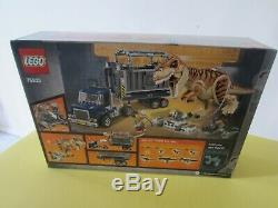 LEGO Jurassic World T. Rex Transport 75933 NEW FACTORY SEALED BOX RETIRING SOON