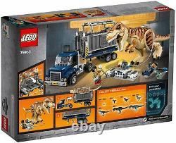 LEGO Jurassic World T. Rex Transport (75933) (NISB)