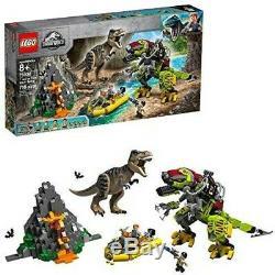 LEGO Jurassic World T. Rex vs Dino-Mech Battle 75938 716 Pcs New