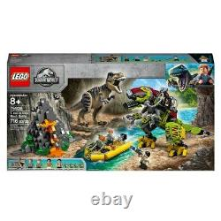 LEGO Set 75938 Jurassic World T-Rex Vs. Dino Mech Battle