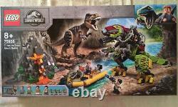 LEGO T. Rex vs Dino-Mech Battle Jurassic World (75938) NEW SEALED