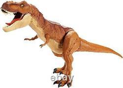 Large Dinosaur Toy T Rex Jurassic World Super Colossal Tyrannosaurus Kids Figure