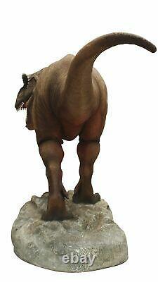 Large Jurassic T-Rex Dinosaur Statue Museum Quality 10.5 FT Long Life Size