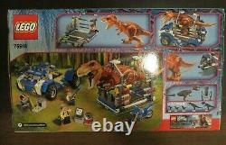 Lego 75918 Jurassic World T Rex Tracker Retired NISB