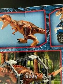 Lego 75918 Jurassic World T Rex Tracker Retired NISB (Box Damage)