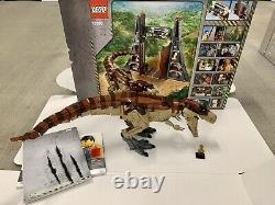 Lego 75936 Jurassic Park T. Rex And Box