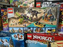 Lego 75938 Jurrasic World T. Rex vs Dino-Mech Battle New Retired 2019 Isla Nubla