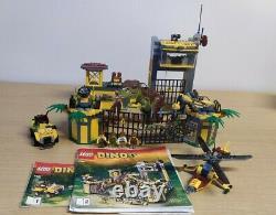 Lego Dino 5887 Defence HQ Rare Dinosaur T Rex Baby Raptor 2/3 Instructions
