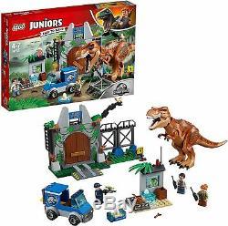 Lego Juniors Jurassic World 10758 T-REX BREAKOUT Dinosaur Trex T Rex Park NEW