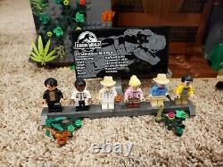 Lego Jurassic Park T REX RAMPAGE 75936 Building Set complete + instructions box